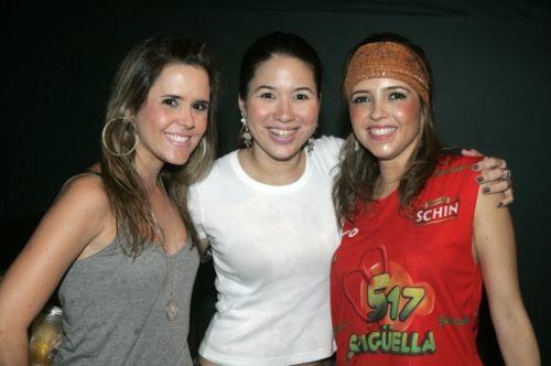 Cristina Brandao, Carol Yamazaki e Sarinha Diniz