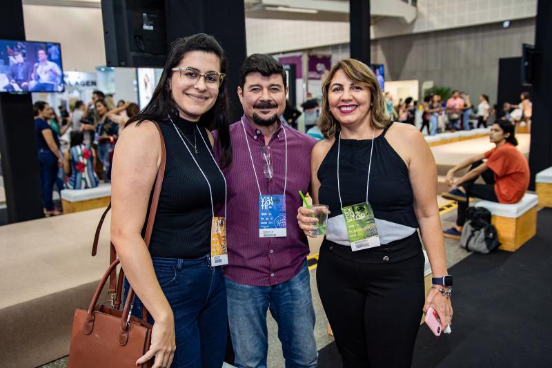 Sheila Silva, Marcelo Luz e Zenaide Severo