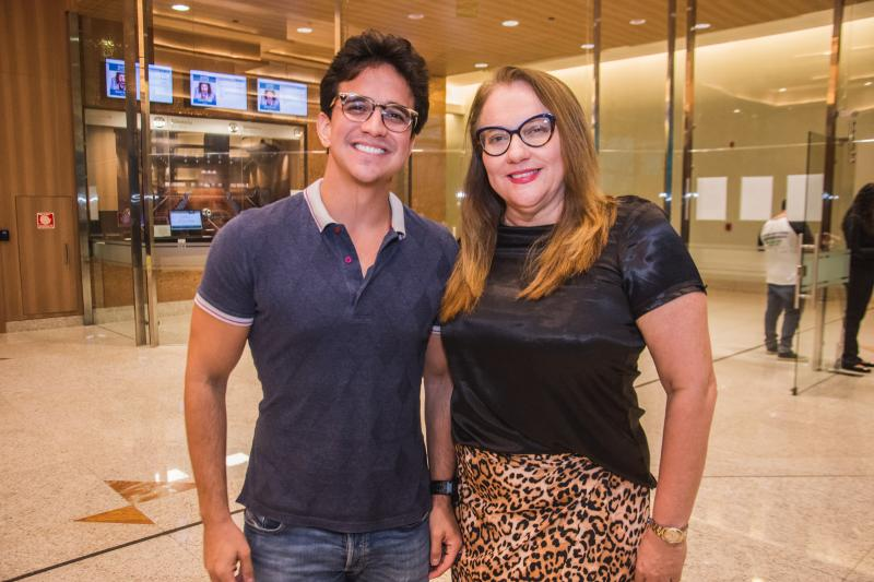 Panta Neto e Luiziane Cavalcante