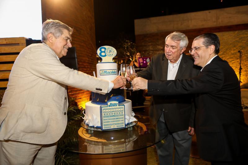 Amarilio Maceedo, Roberto Macedo e Walter Farias