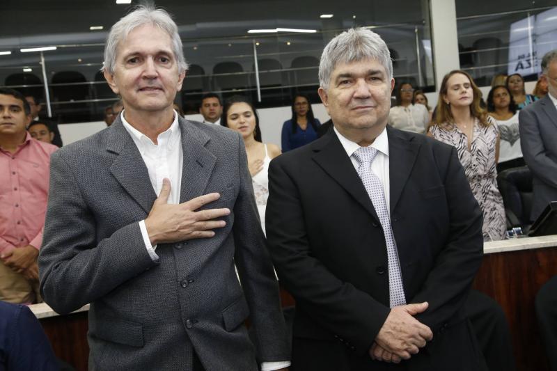 Luiz Goiane e Carlos Eduardo Benevides