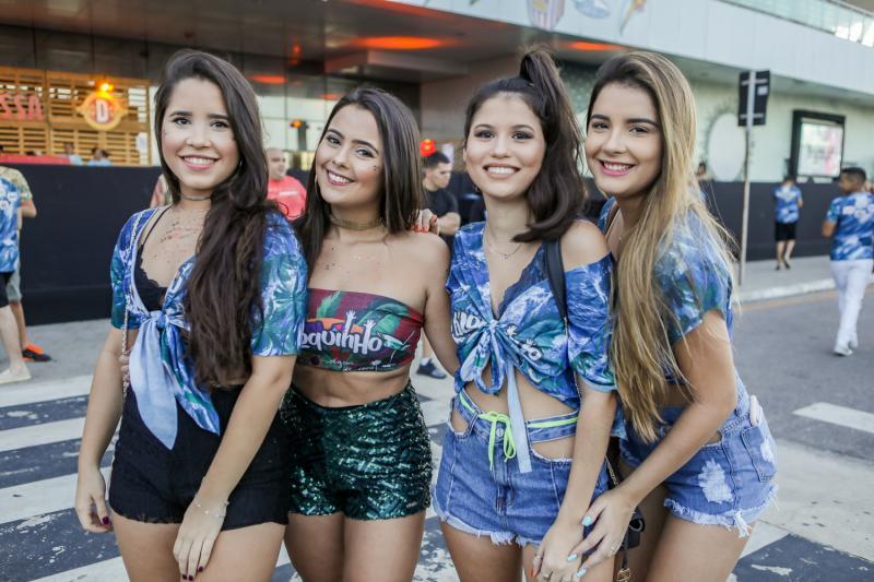 Clara Cidrak, Catarina Linhares, Lara Tavares e Larissa Pontes
