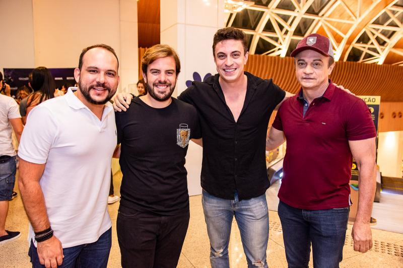 Daniel Meireles, Claudio Nelson, Flar e Joao Ribeiro