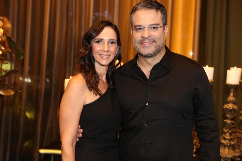 Dalma Carvalho e Roberto Vieira