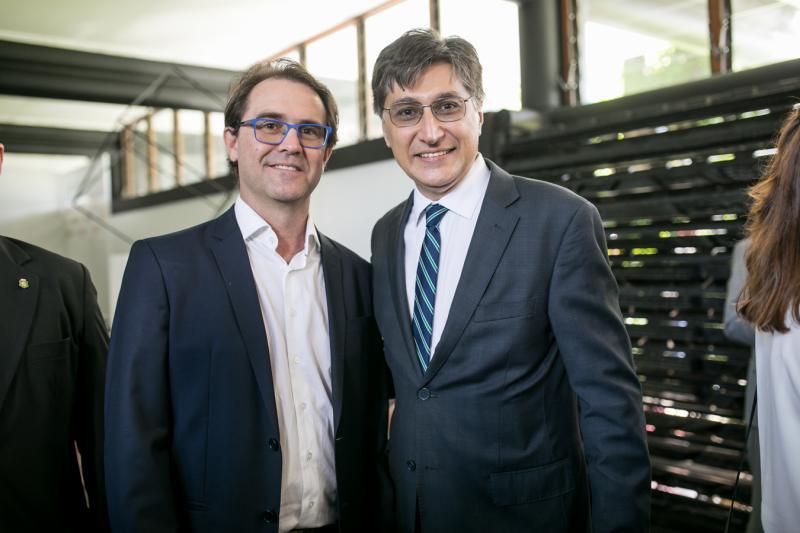 Alexandre Landin e Hugo Figueiredo