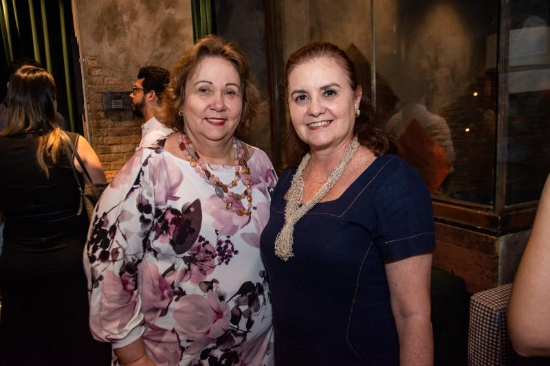 Suzanne Vasconcelos e Veronica Barreira