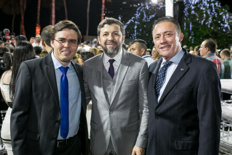 Tasso Faco, Elcio Batista e Darlan Leite