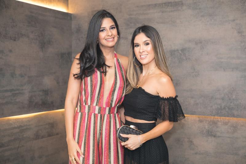 Tatiana Cruz e Manoela de Castro