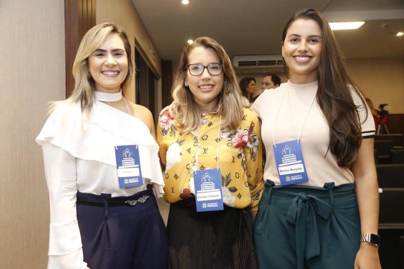 Eliane Arrais, Larissa Monteiro e Eliane Arrais