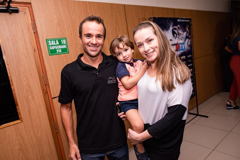 Diogo Porto, Pedro e Jessica Porto