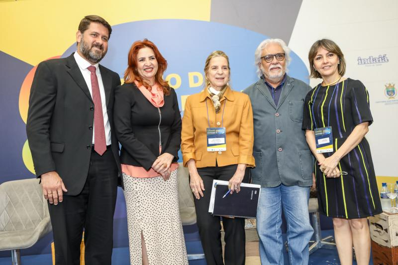 Rafael Rodrigues, Enide Camara, Annea Ribeiro, Joaquim Cartaxo e Circe Jane