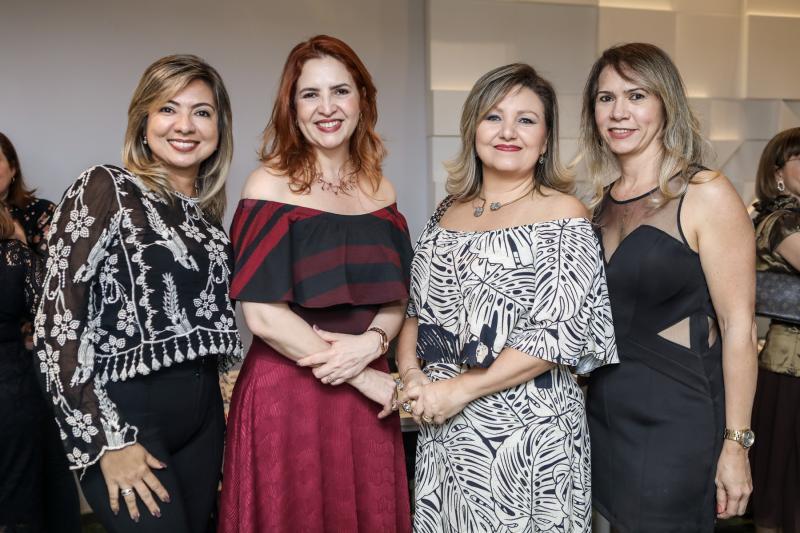 Jo Guerra, Enid Camara, Estela Pavan e Adriana Mourao