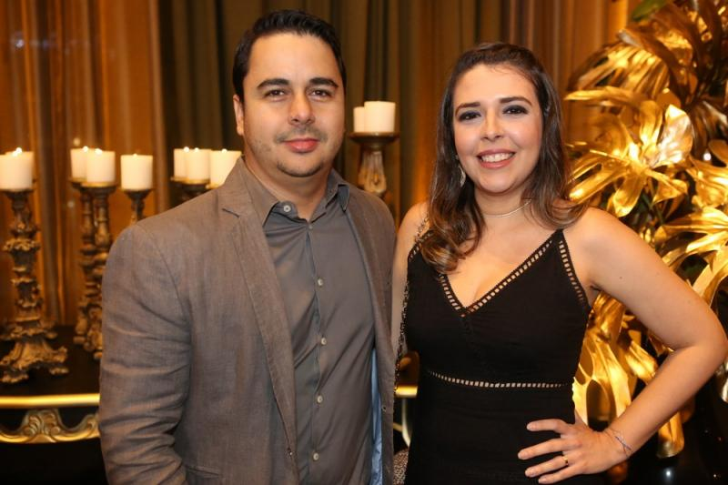 Rafael Vieira e Denise Nogueira