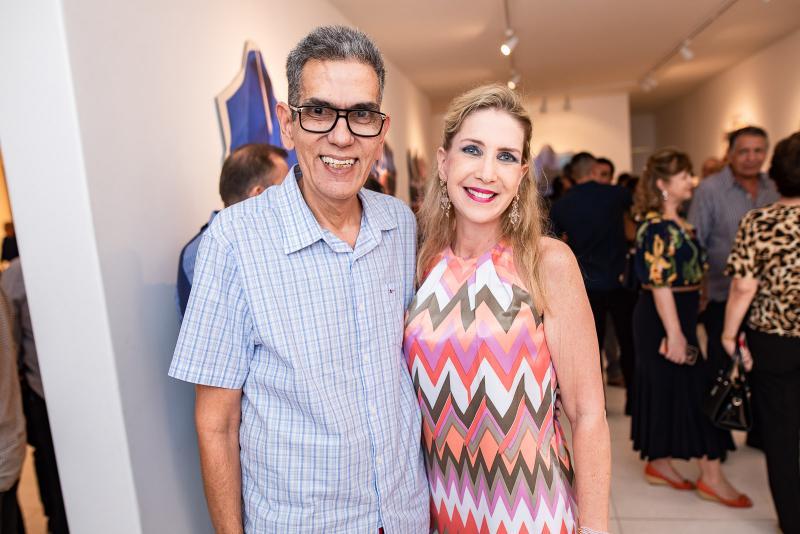 Sávio Queiroz e Marjorie Marshall
