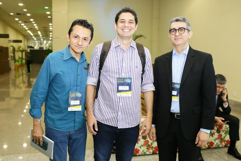Eduardo Galdino, Hanner Pinto e Rodrigo de Almeida