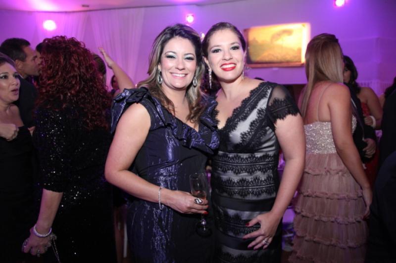 Tatiana Luna e Ana Claudia Aguiar