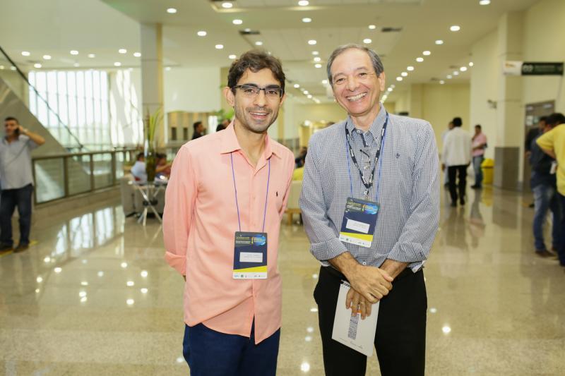 Uendel Queiroz e Carlos Barbosa
