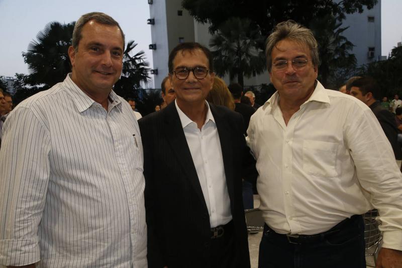 Kalil Otoch, Beto Studart e Walter Bardawill