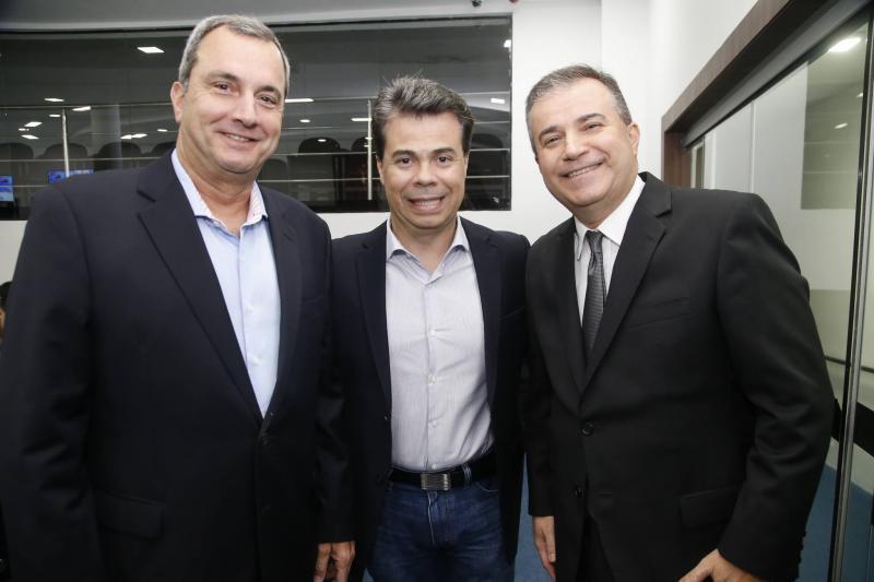 Kalil Otoch, Duda Brigido e Ricardo Bezerra