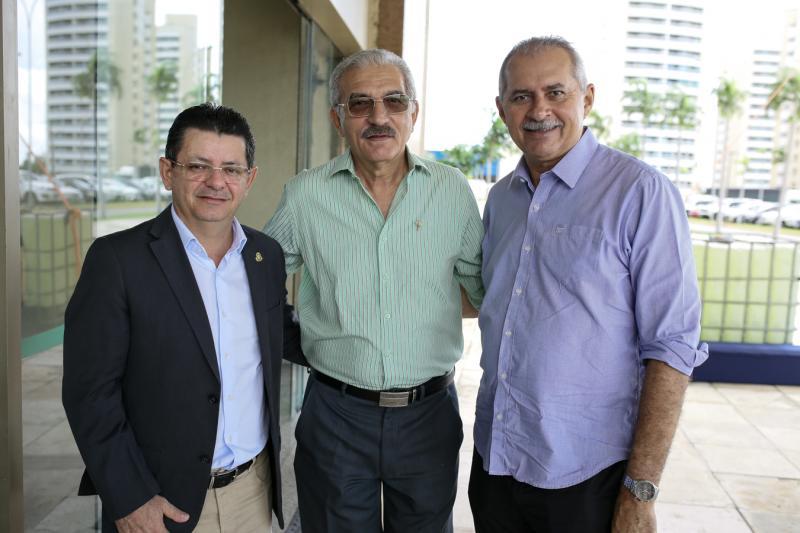 Nizo Costa, Wlater Cavalcante e Nezinho Farias