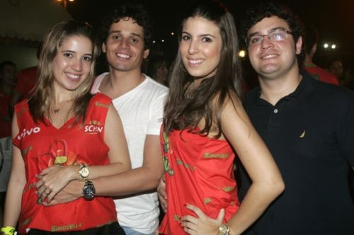 Liana e Rafael Sa, Patricia Santiago e Alcimor Neto
