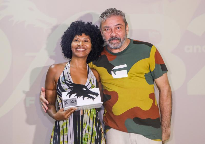 Silvania de Deus e Claudio Silveira