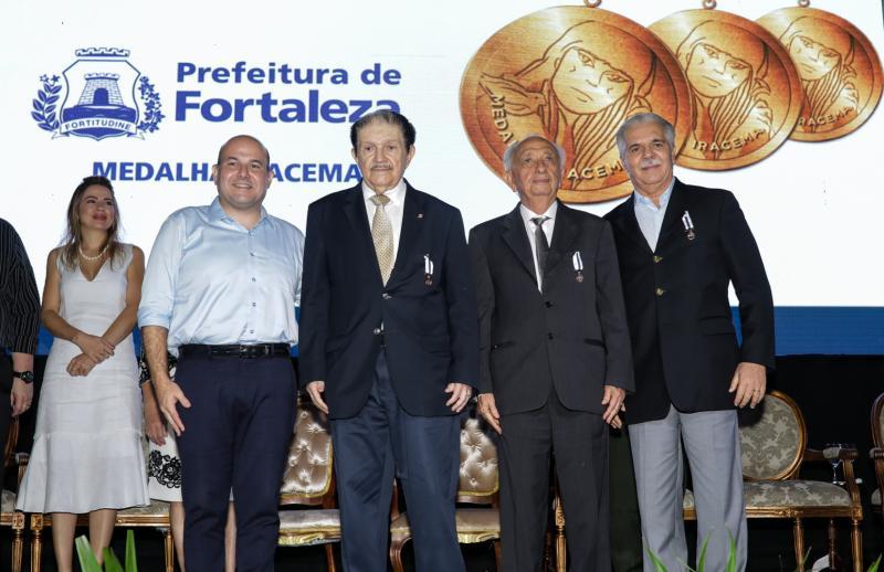 Roberto Claudio, Mauro Benevides, Otho Nogueira e Pio Rodrigues