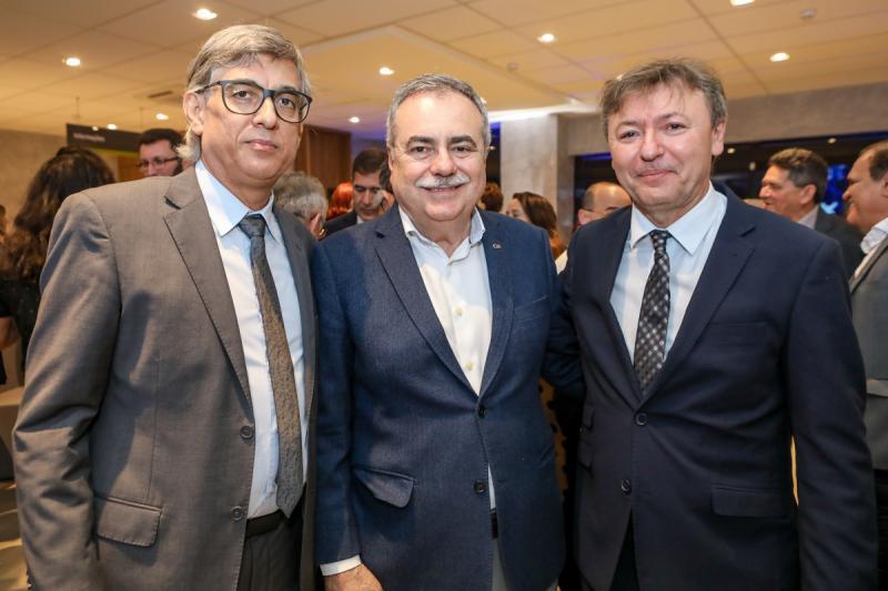 Cid Alves, Assis Cavalcante e Mauricio Filizola