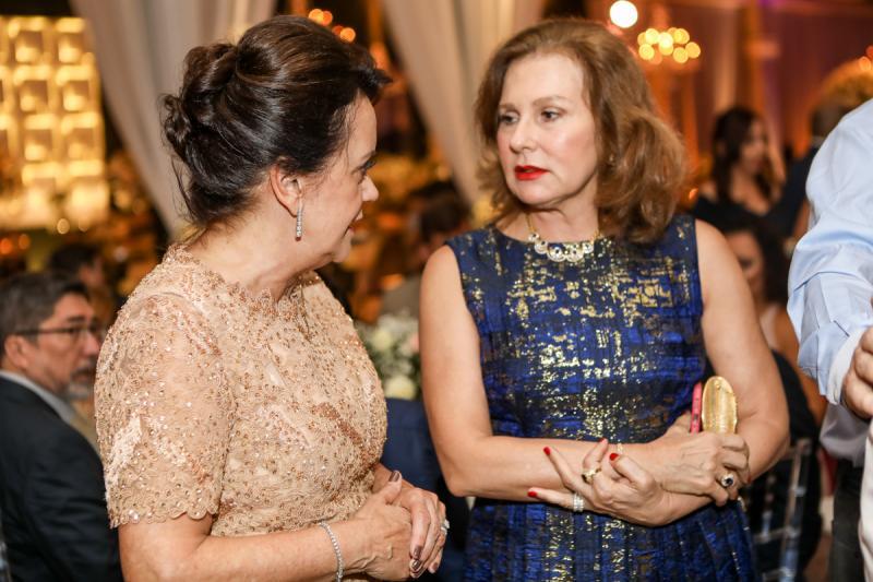 Leninha Soares e Renata Jereissati