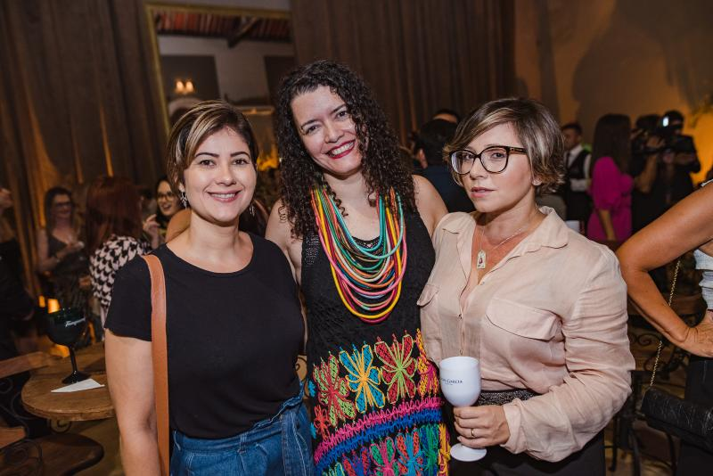 Rachel Carneiro, Ana Claudia Farias e Candida Lopes