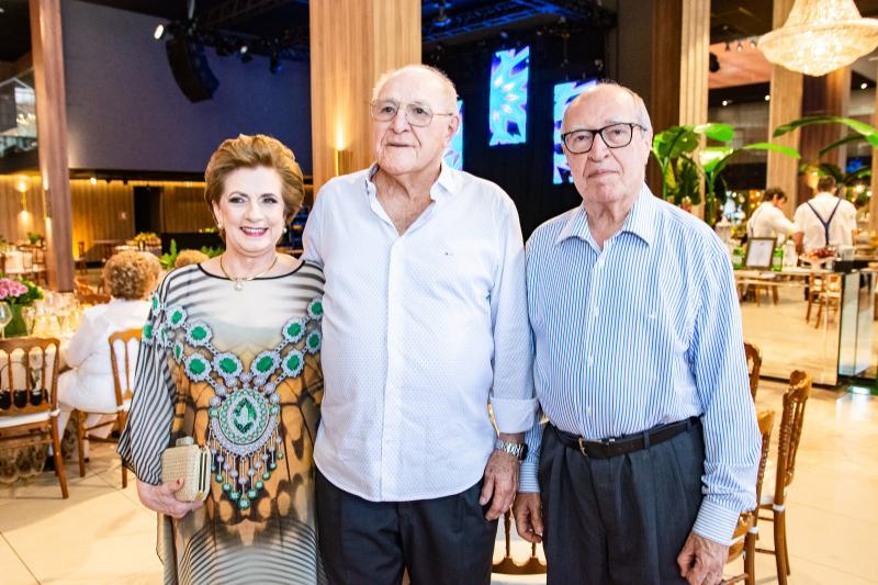 Regina Aragao, Luis Marques e Lucio Alcantara