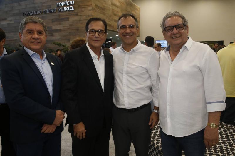 Sampaio Junior, Beto Studart, Eduardo Neves e Fred Fernandes