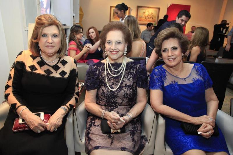 Rejane Fujita, Norma Bezerra e Regina Aragao