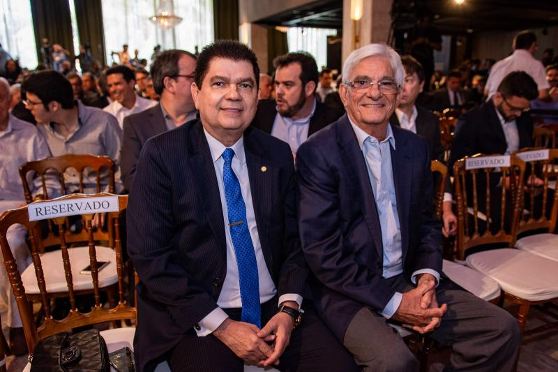 Mauro Benevides e Assis Machado
