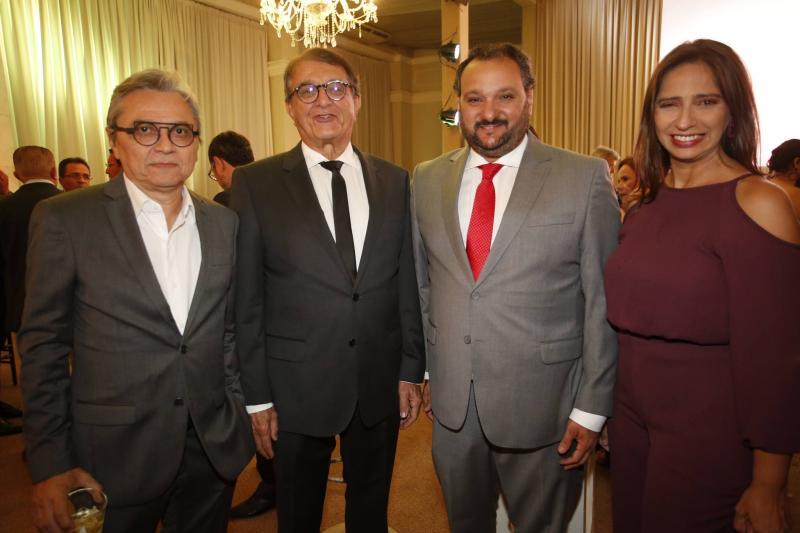 Fernando Costa, Arialdo Pinho, Patriolino Dias e Maura Maia