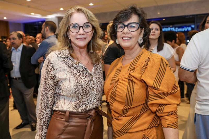 Sofia Linhares e Neuma Figueiredo