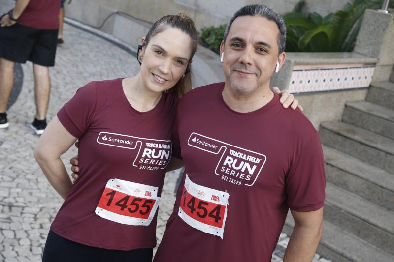 Paula Pontes e Fernando Brigido