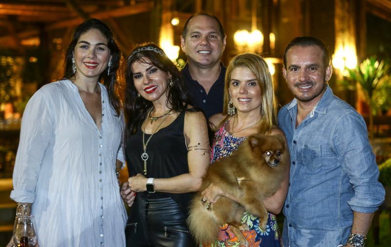 Isabella Fiuza, Zilda Pessoa, Freitas Junior, Leticia Studart e Wilfred Mendonça