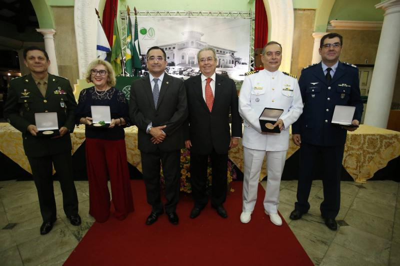 Coronel Jose Cordeiro, Socorro Franca, Jardson Cruz, Meton Cesar de Vasconcelos, Comandante Madson Cardoso e Coronel Alex Pereira 1