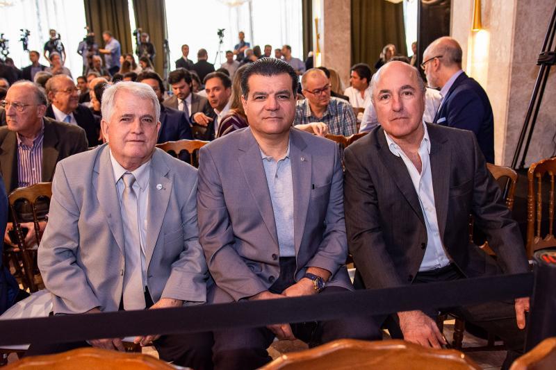 Jose Antunes, Odmar Feitosa e Silvio Frota