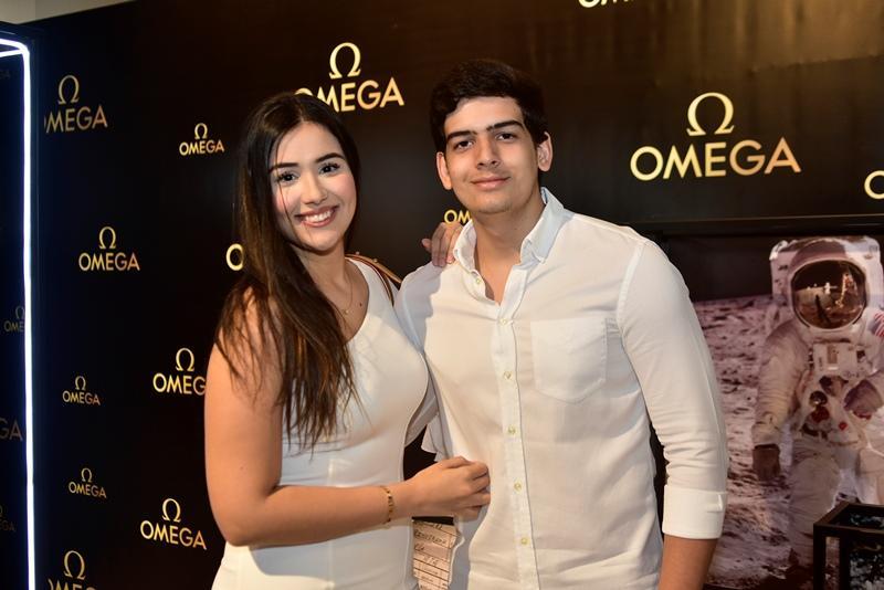 Marcela Arrais e Davi Melo