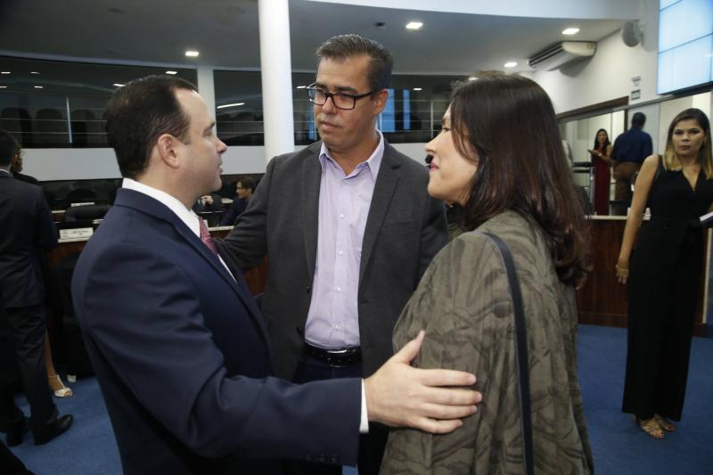 Igor Barroso, Edson Geraldo e Stella Souza