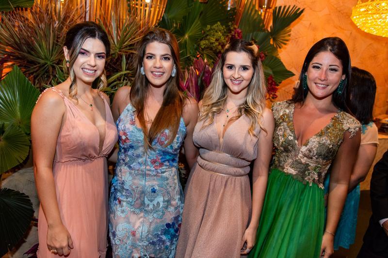 Marina Fernandes, Tais Valente, Jessica Aguiar e Bianca Lima