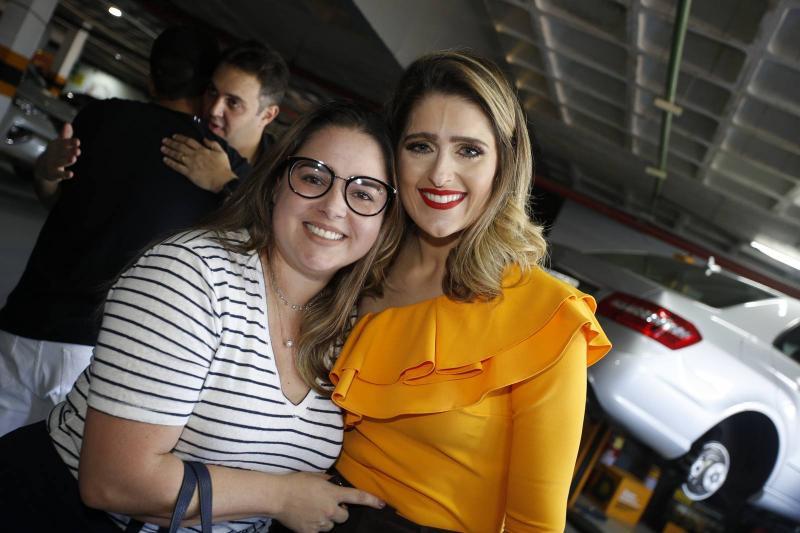 Aline Aguiar e Rebeca Bastos