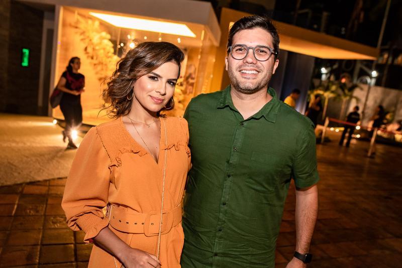 Manuela Cidrao e Pedro Lima