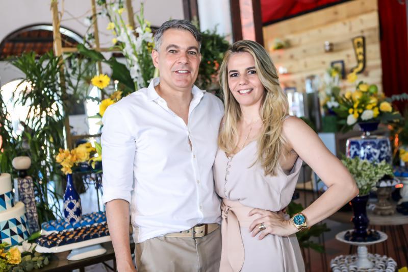 Marcelo e Marcia Pontes