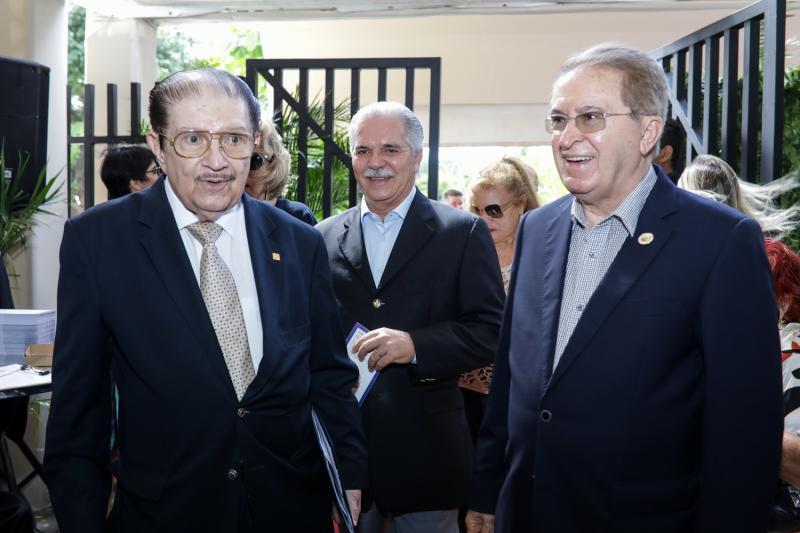 Mauro Benevides, Pio Rodrigues e Joao Melo