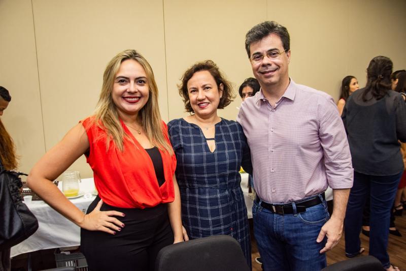 Monika Vieira, Edna Guerra e Duda Brigido