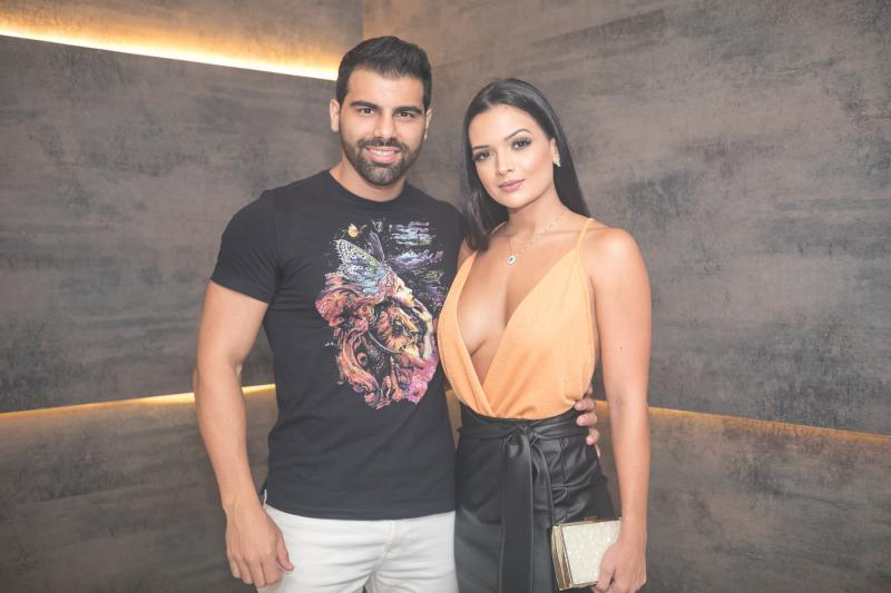 Charles Feijao e Tamylle Oliveira
