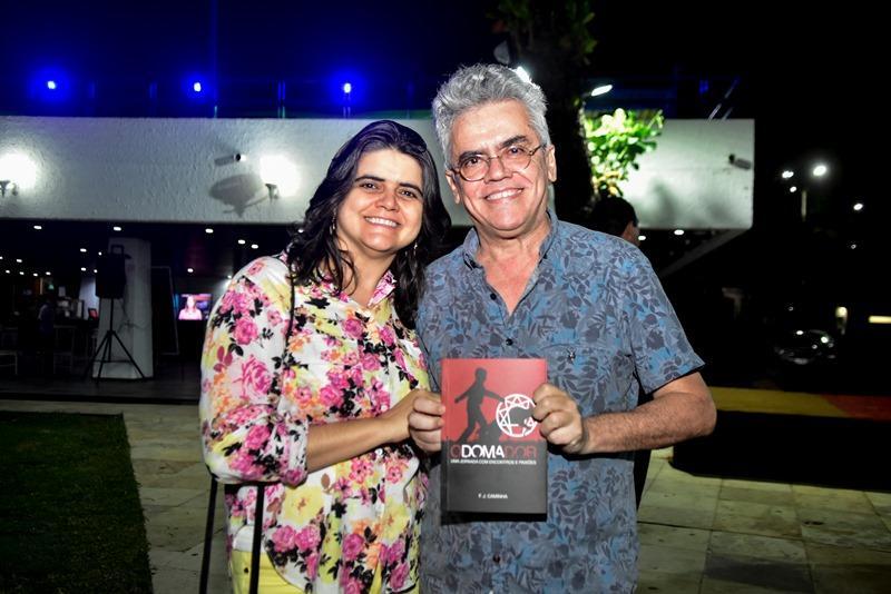 Adriana Cavalcante e Sergio Quixada